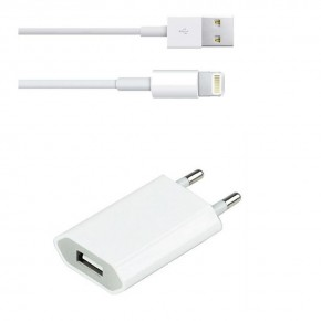 CARGADOR + CABLE LIGHTNING PARA IPHONE